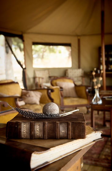 Chada Camp Lounge Katavi National Park Tanzania
