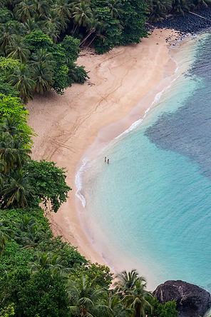 Praia Banana Beach Príncipe