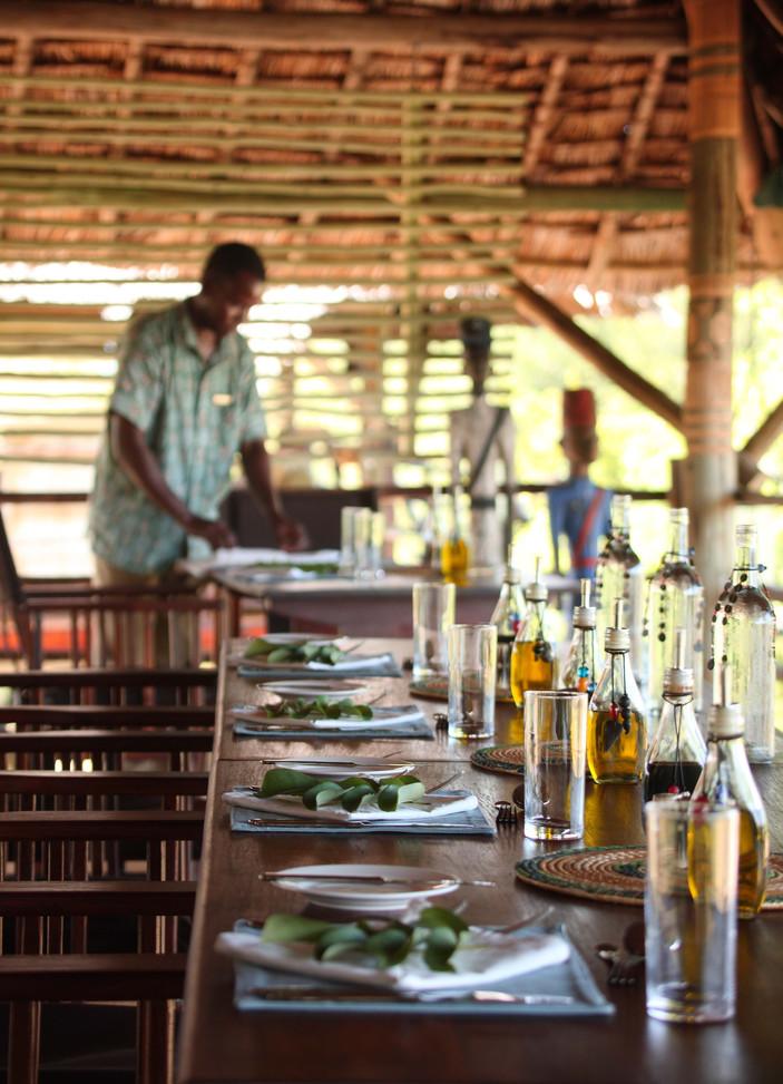 Friendly, efficient staff at Siwandu, Nyerere, Selous
