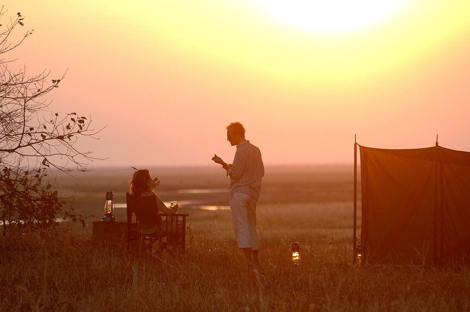 Sunset Chada Katavi Tanzania
