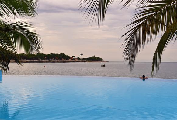 Infinity Pool Pestana 5 star São Tomé