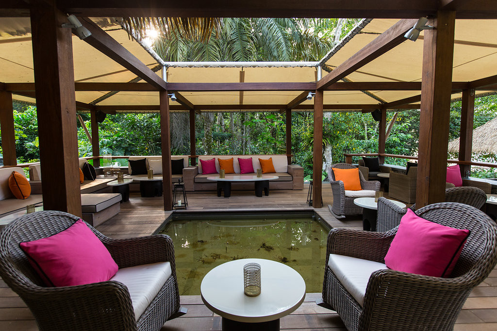 Rainforest Canopy Lounge Sundy Praia
