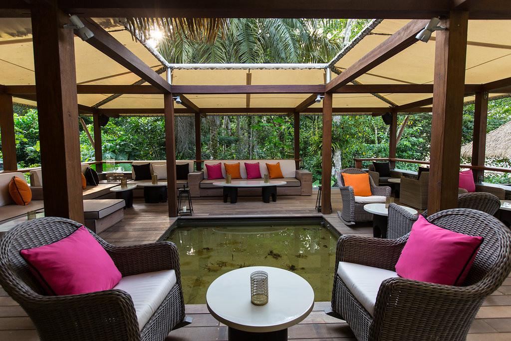 Rainforest Canopy Lounge Sundy Praia