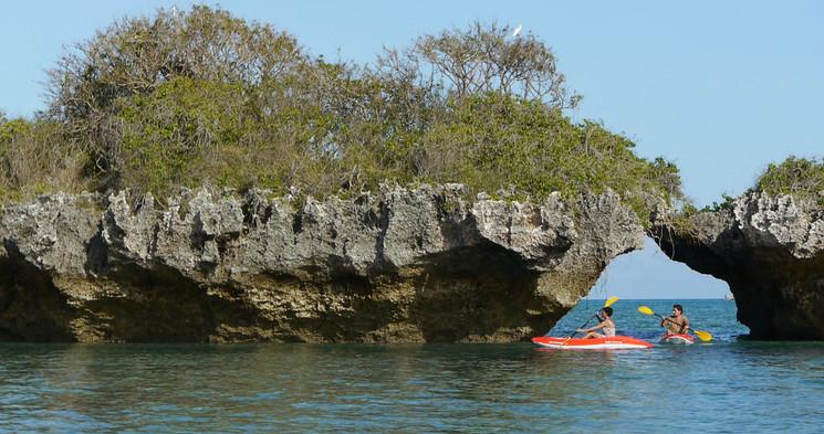 Tanzania Fanjove Island Kayaking