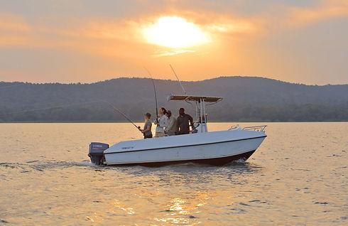 Freshwater Fishing Rubondo Chimp Island Tanzania