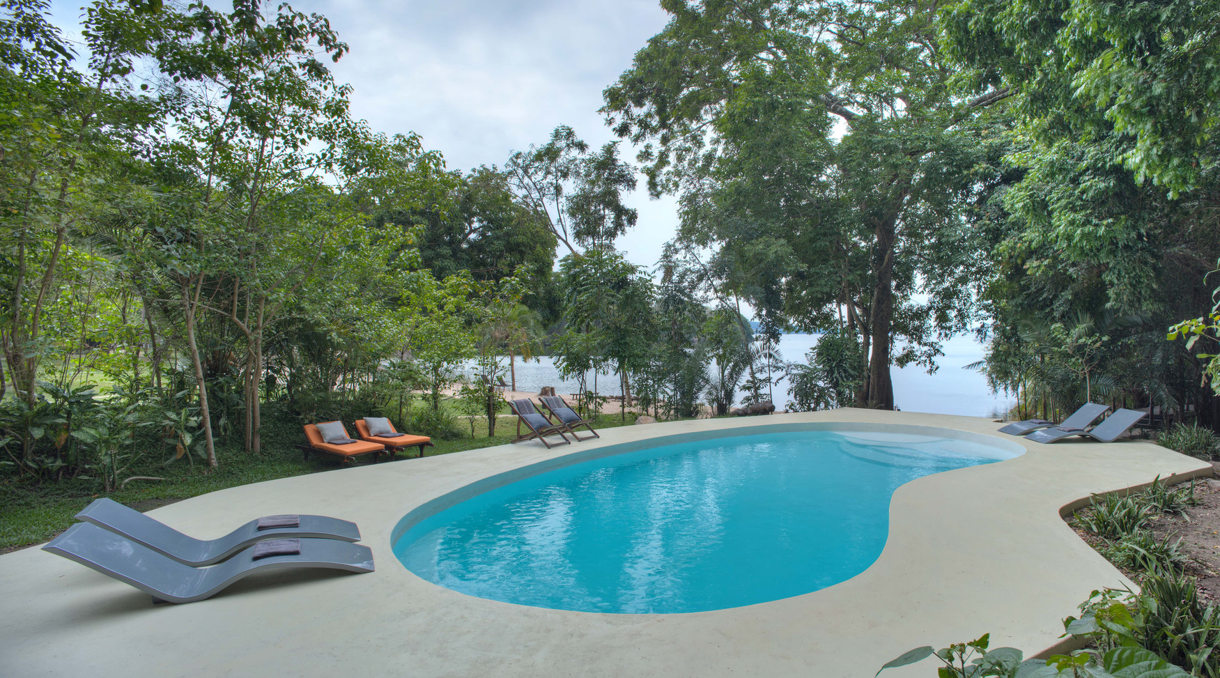 Pool Overlooking Lake Victoria Rubondo C