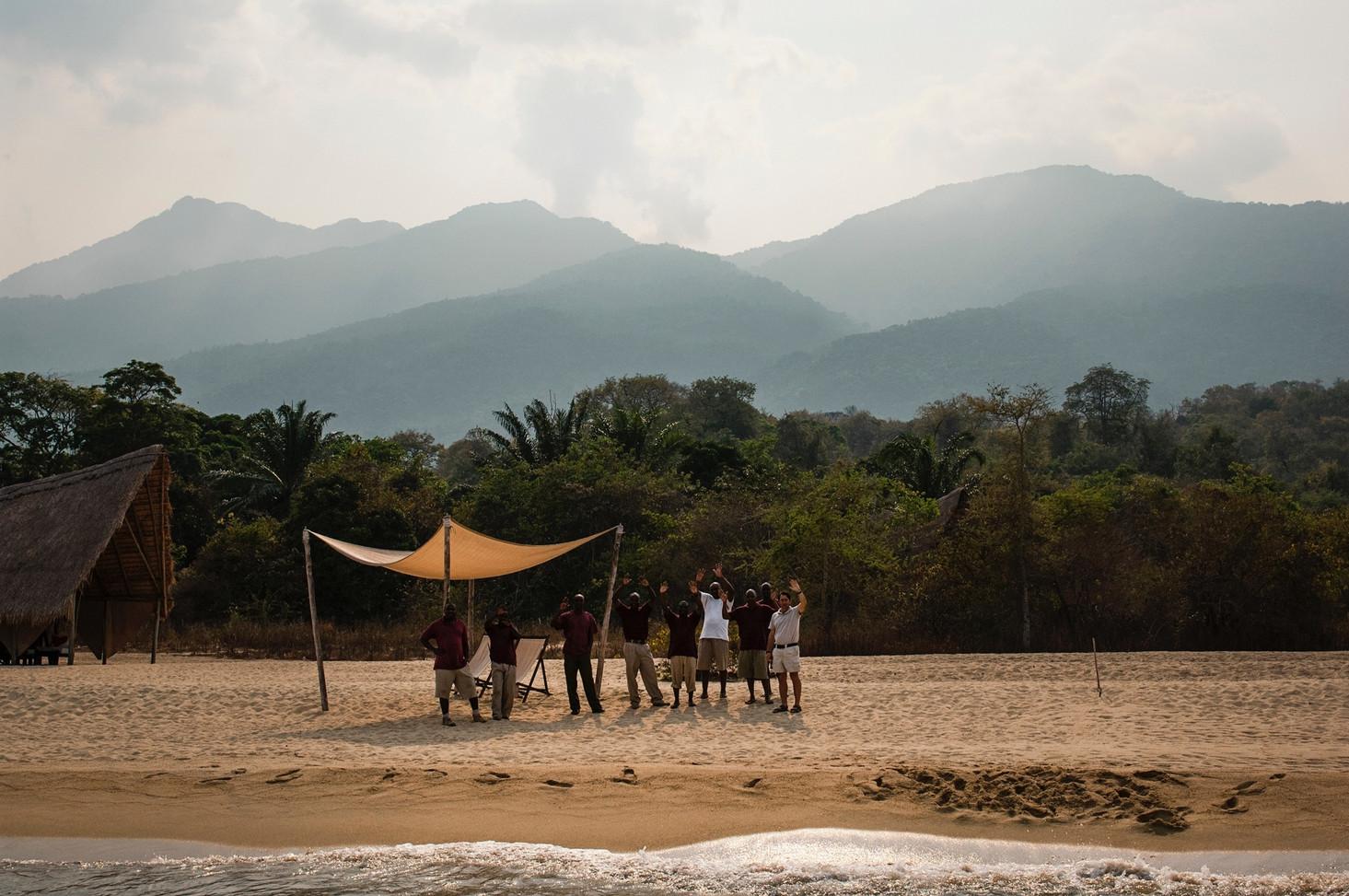 The Edge of the World!...Greystokes, Mahale, Tanzania