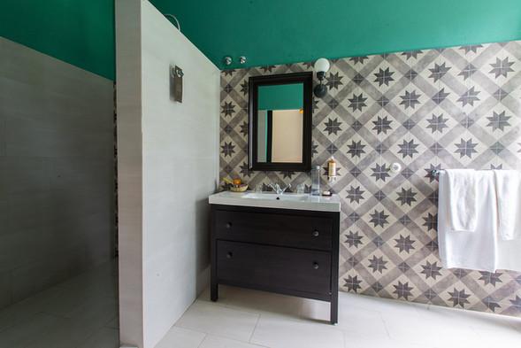 Bathroom Plantation House with Panaramic View Roça Sundy