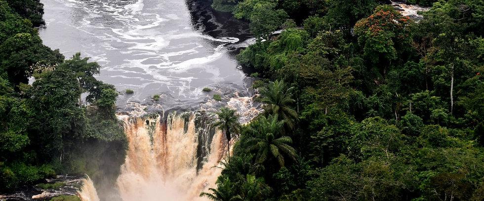 Kougou Falls Ivindo Gabon