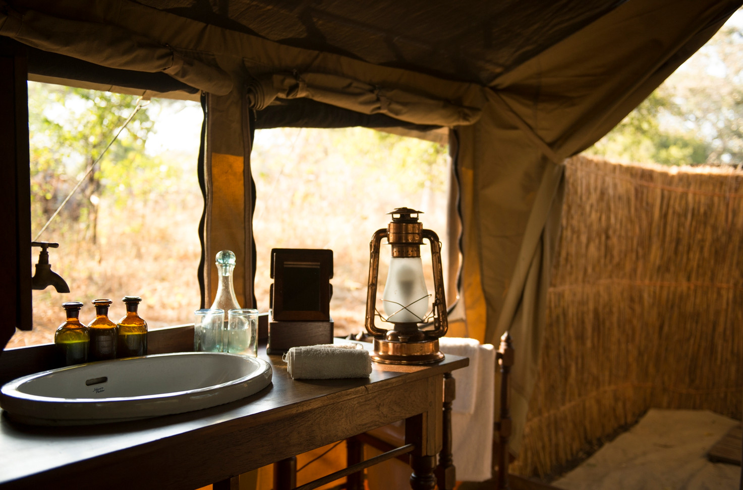 Bathroom Chada Katavi Camp Tanzania