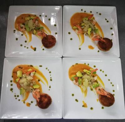 Seafood Dishes Pongara Gabon