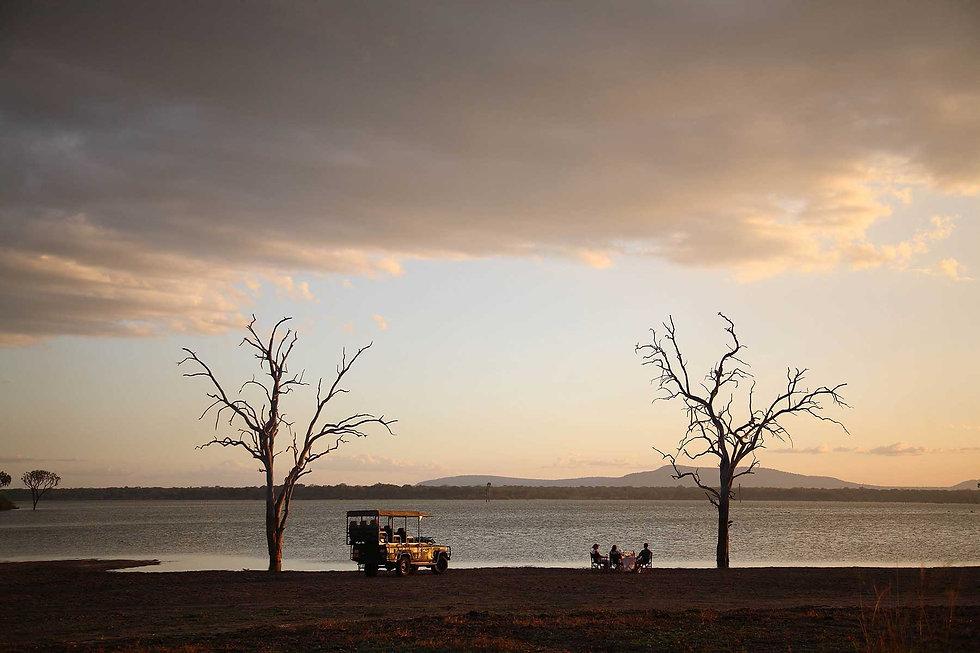 Siwandu Lake Nzerakera Nyerere Selous Tanzania