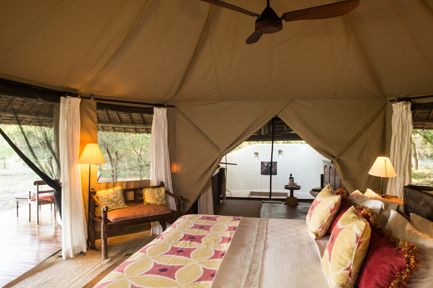 Spacious and Airy Tents at Siwandu, Nyerere, Selous