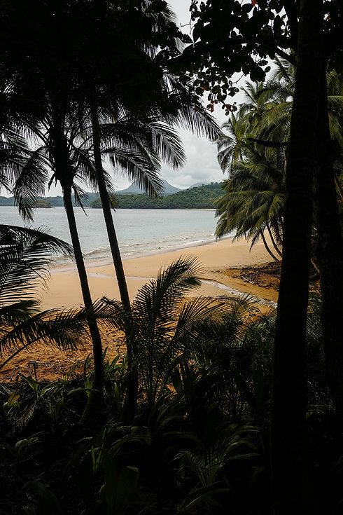 Praia Banana Príncipe