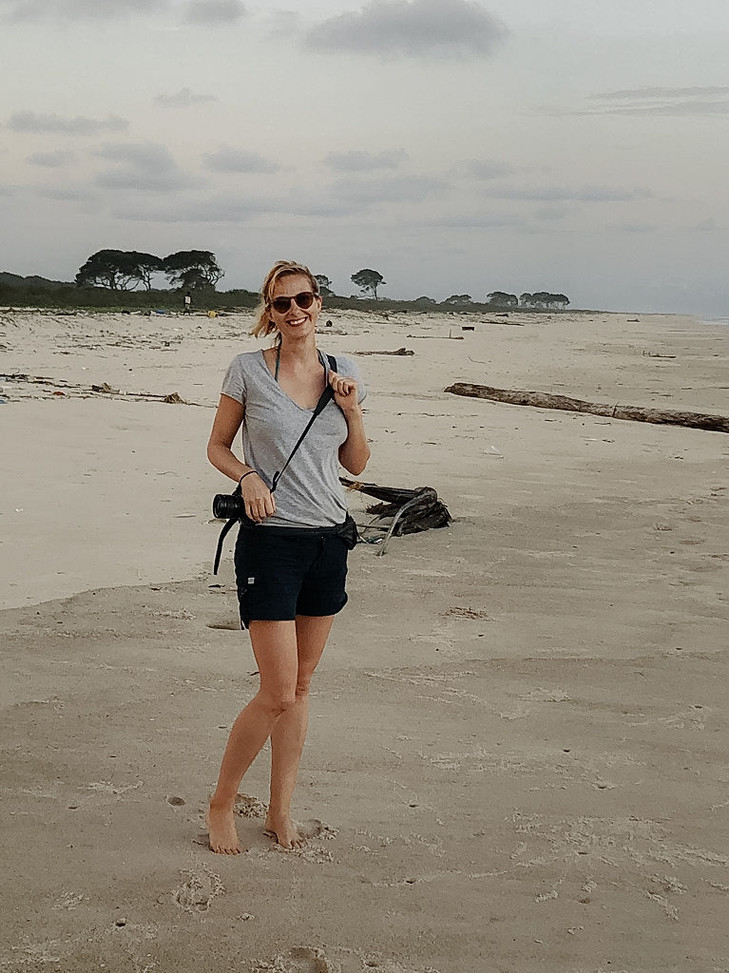 Louri Beach Loango Gabon