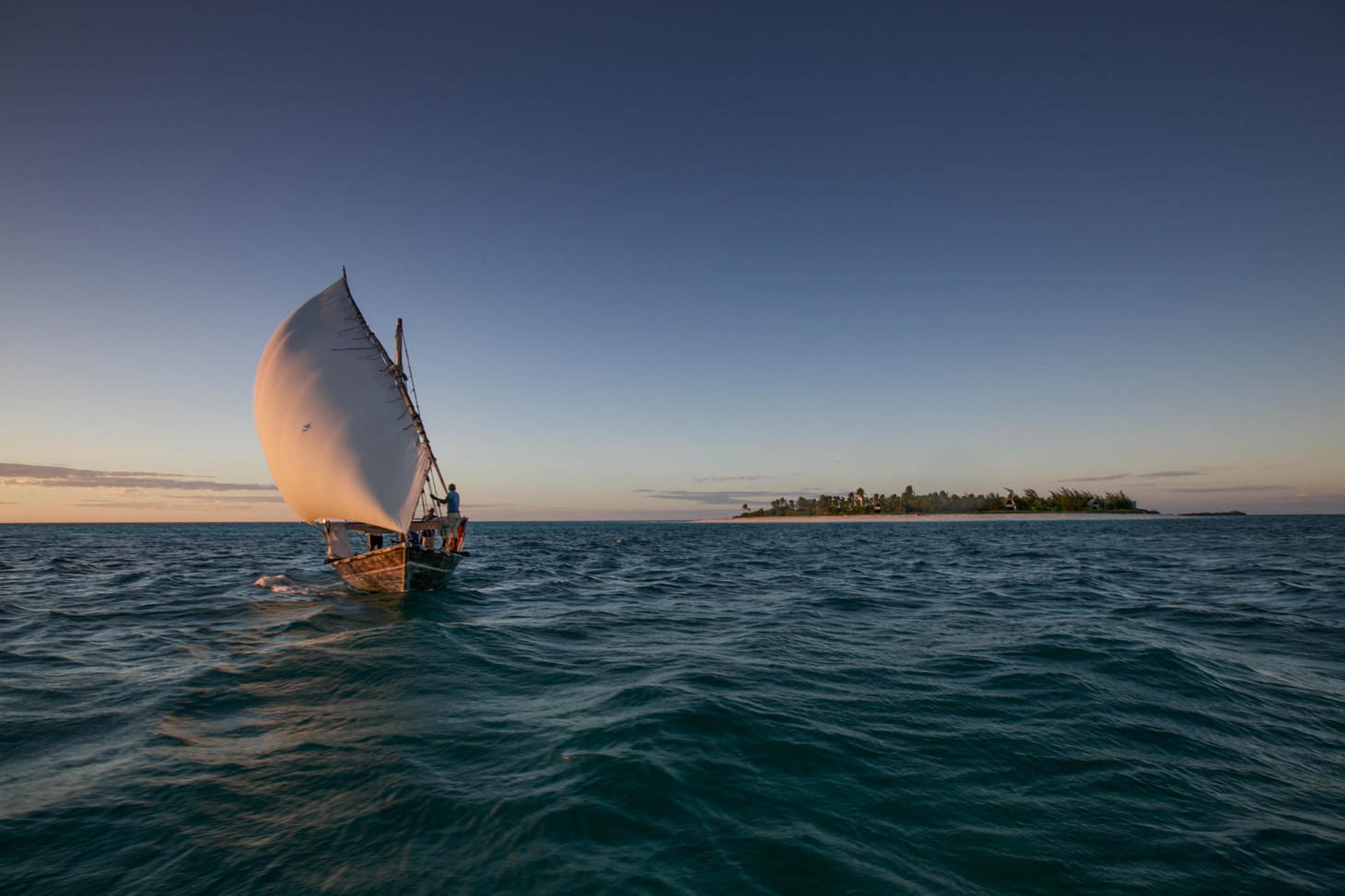Tanzania Fanjove Island Dhow Trip