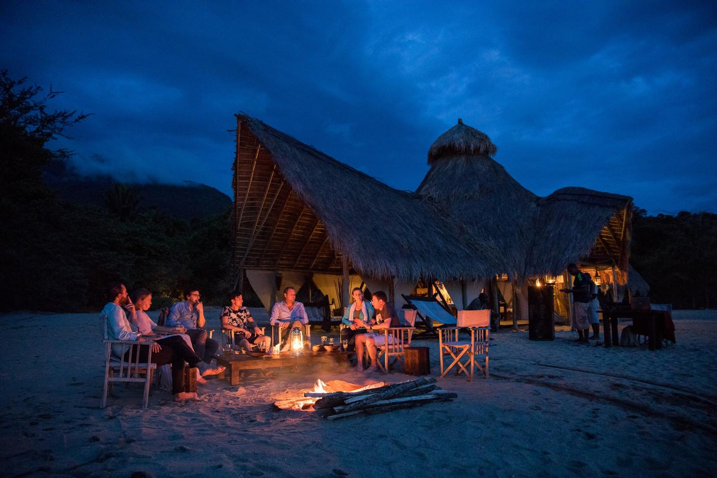 Evenings at Greystokes, Mahale, Tanzania