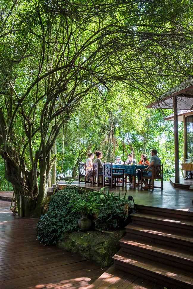 Outside Lounge Area Rubondo Chimp Island