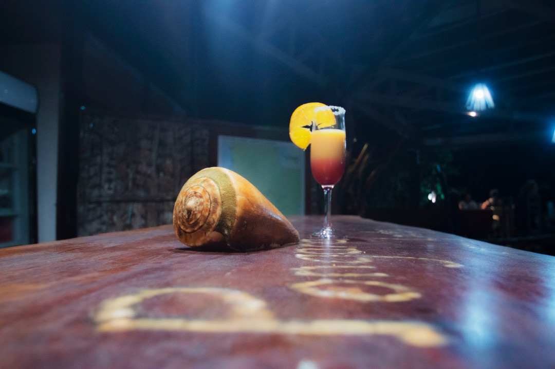 Bar Cocktail Pongara Lodge Gabon