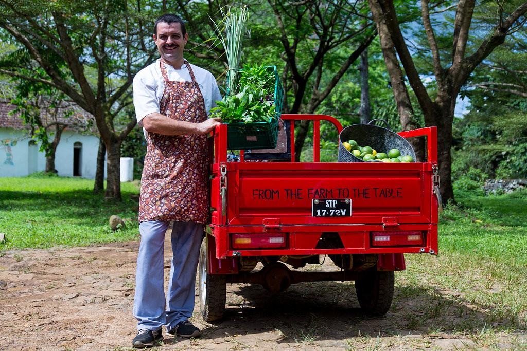 Chef_Organic Ingredients BomBom Príncipe