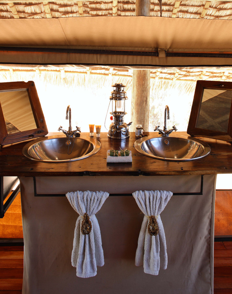 Bathroom at Jongomero, Ruaha
