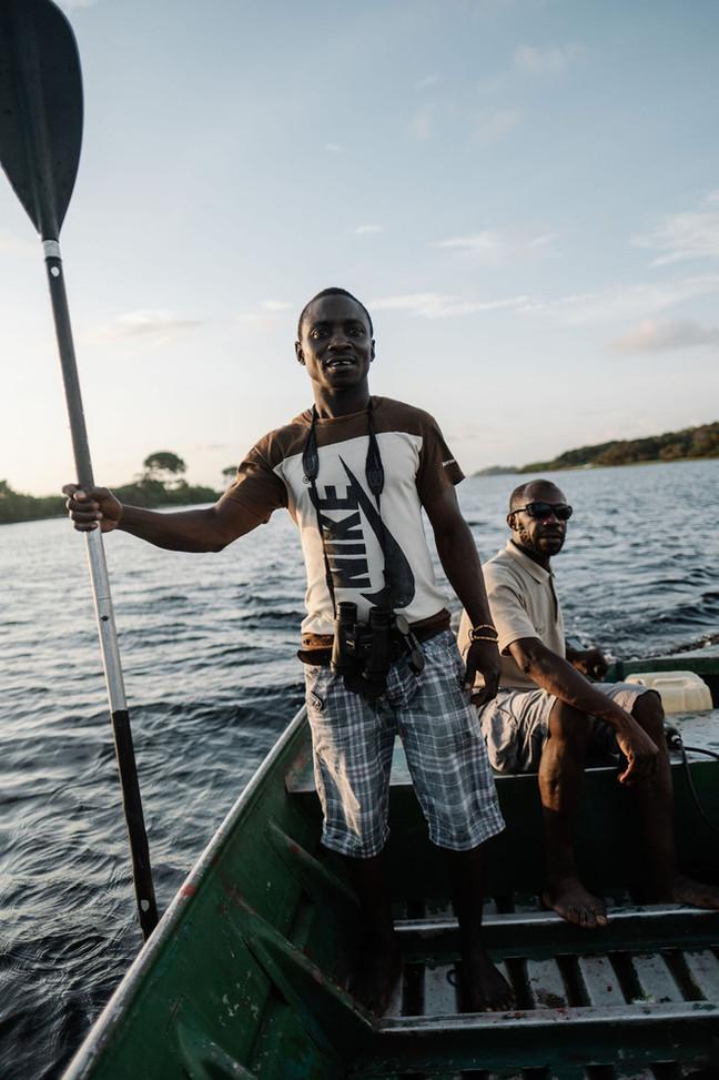 Boat Tour Louri Staff Loango Gabon