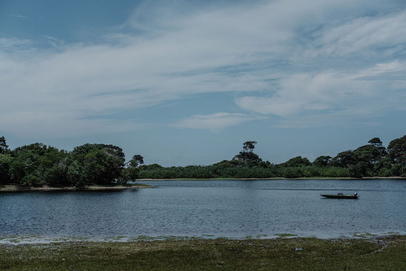 Louri River Loango Gabon