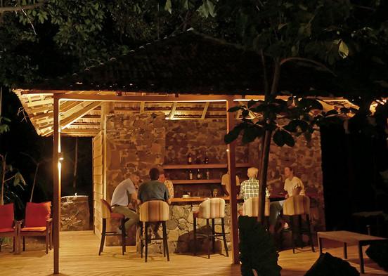 Roça Belo Monte Poolside Bar Príncipe