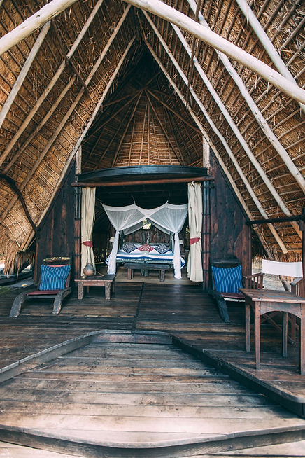 Banda Bedroom Greystoke Mahala, Tanzania