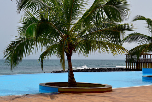 Ocean View Pool Pestana 5 Star São Tomé