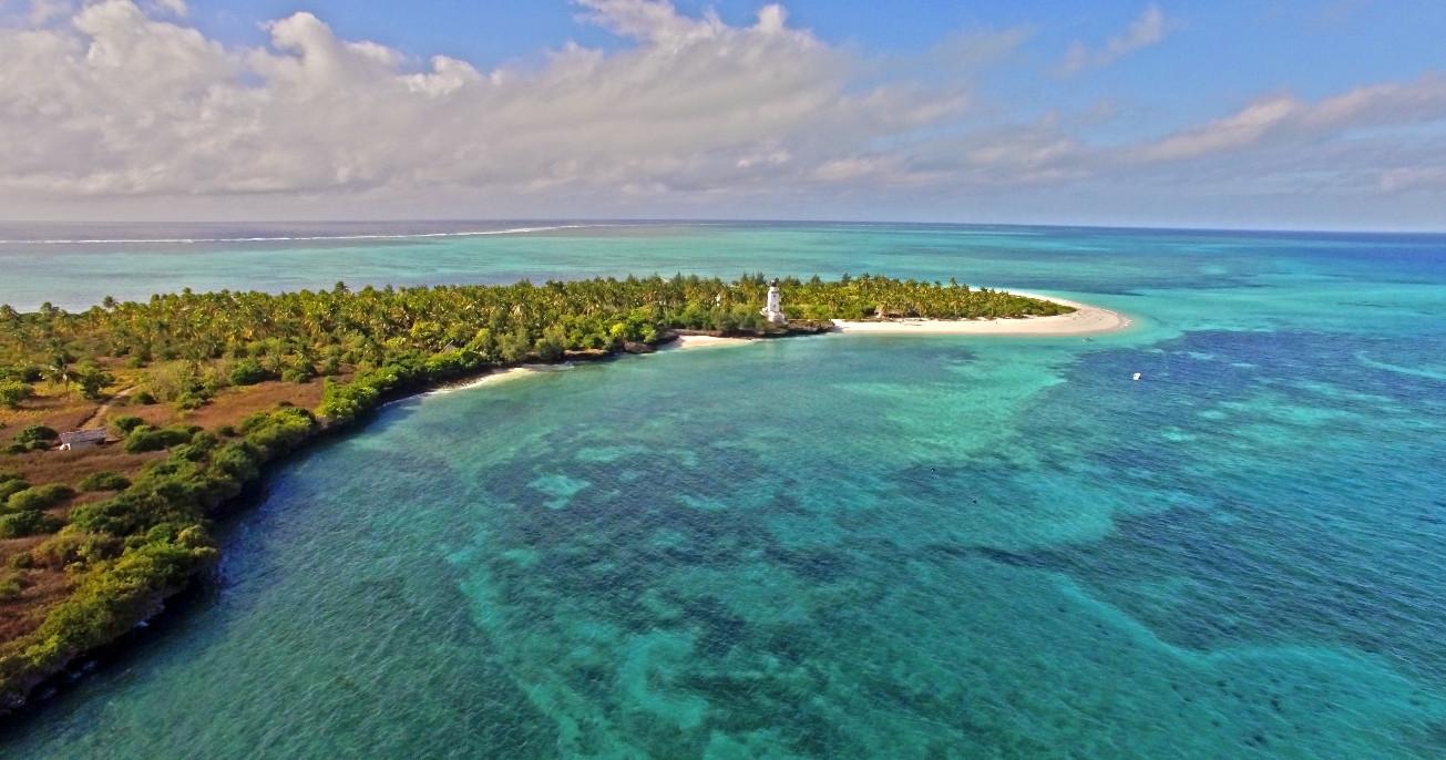 Tanzania - Fanjove Island - aerial