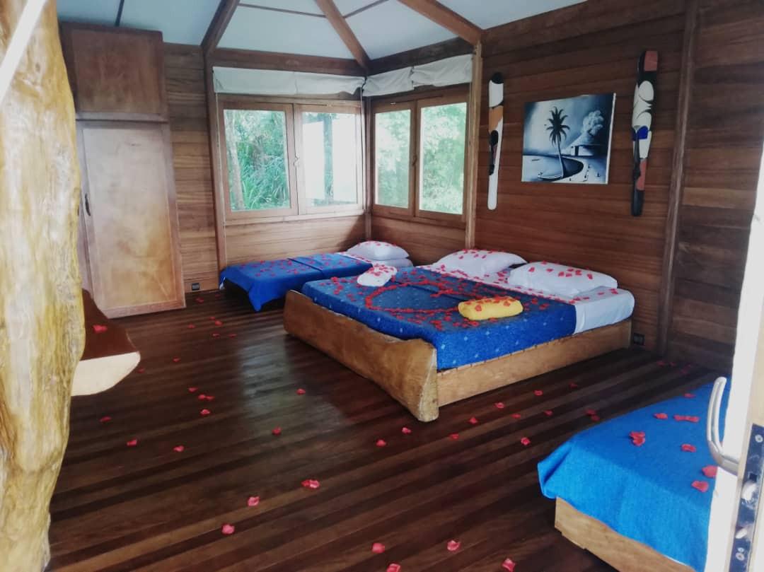 Pongara Spacious Forest Beach Cabins