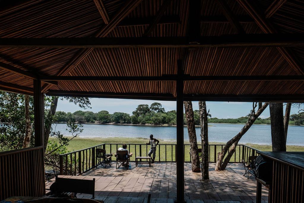 Viewing Point Louri Wilderness Camp Loango Gabon