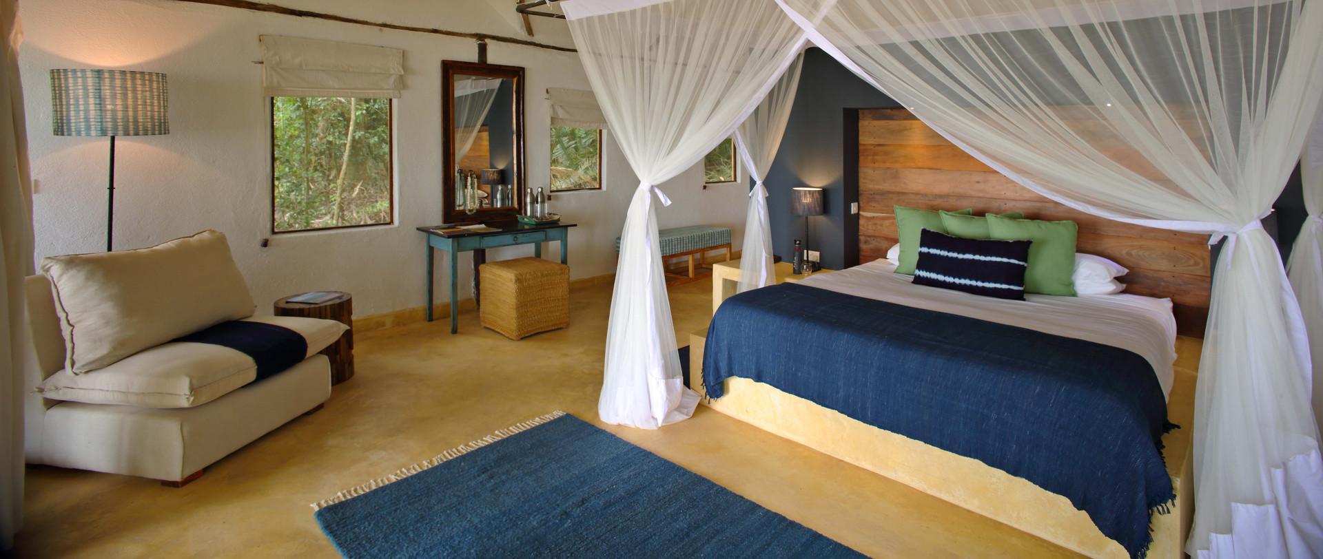 Cottage Interior Rubondo Island Chimp Ca