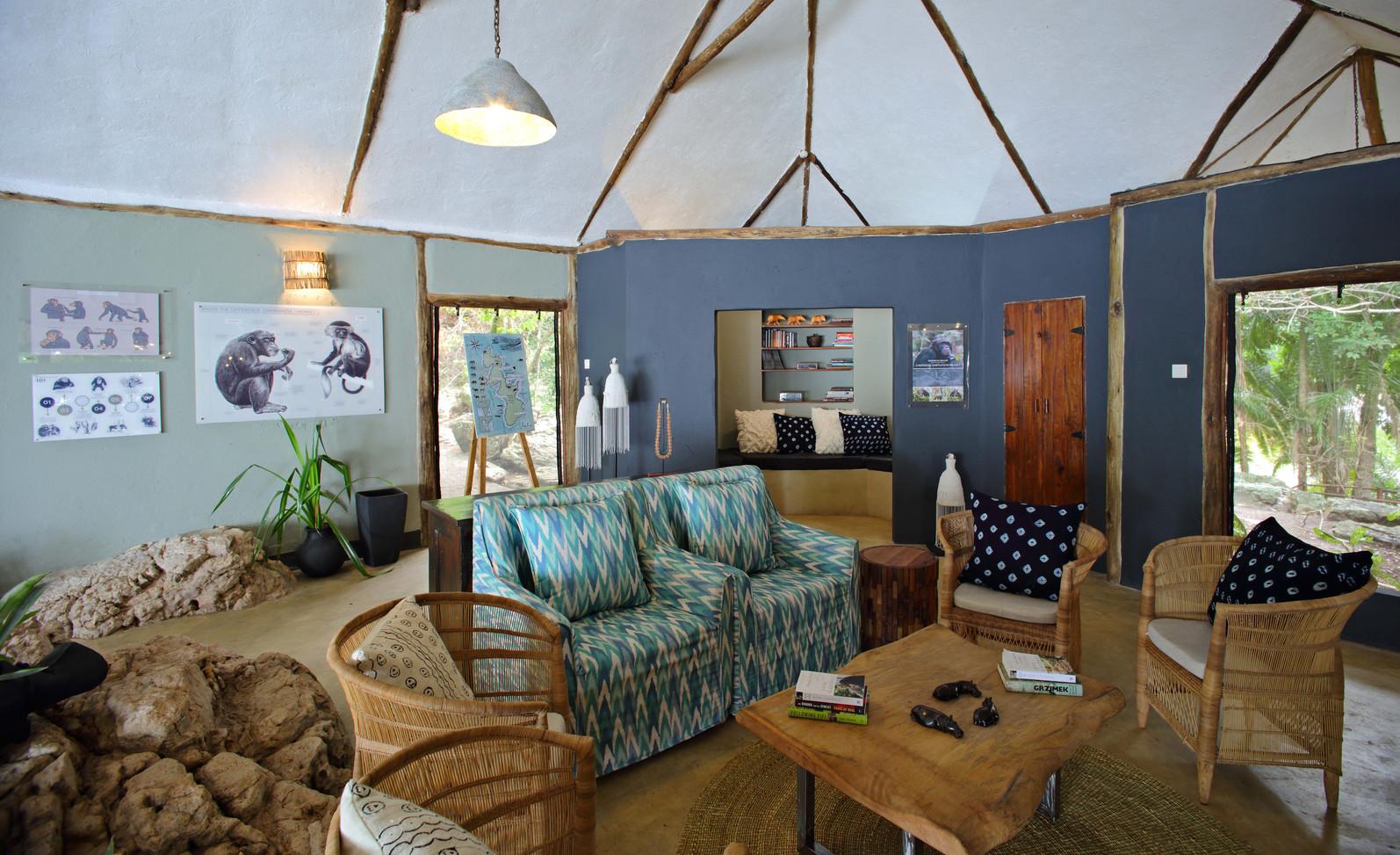 The Nest Rubondo Island Chimp Camp Tanza