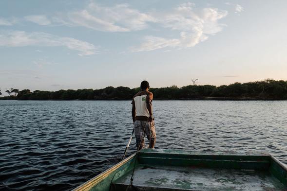 Louri River Boat Loango Gabon