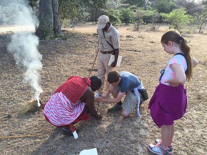Children's Walks at Siwandu Nyerere Tanzania
