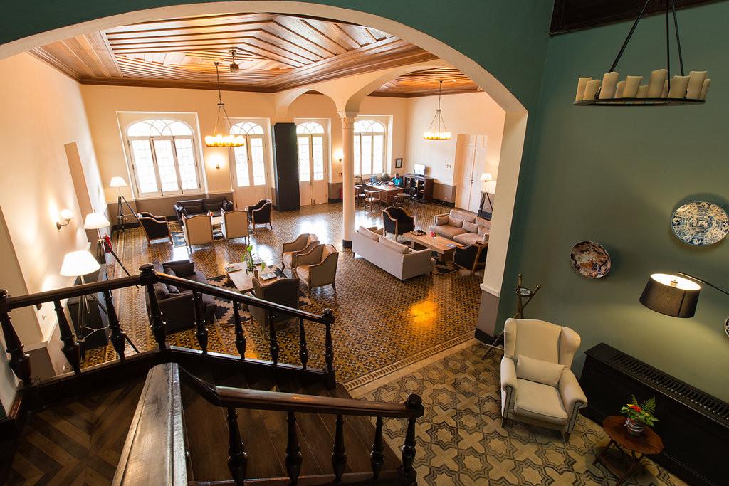 Lounge Colonial House Roça Sundy