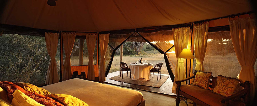 Luxury Bush Camp Siwandu Nyerere Selous Tanzania