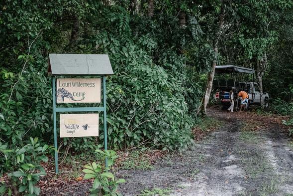 Louri Wilderness Camp Loango Gabon