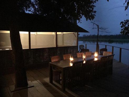 Akaka Camp Restaurant Loango Gabon