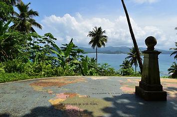 Equator Line Rolas Island São Tomé