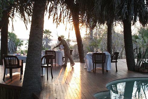 Dining Lake View Siwandu Nyerere Tanzania
