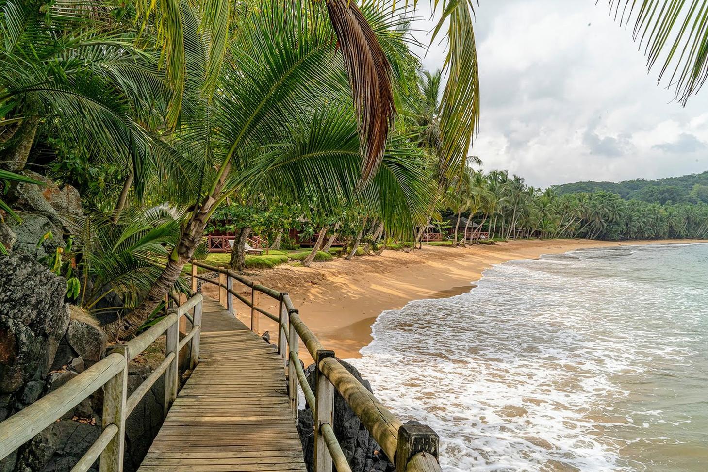 BomBom Beach Lodges Príncipe