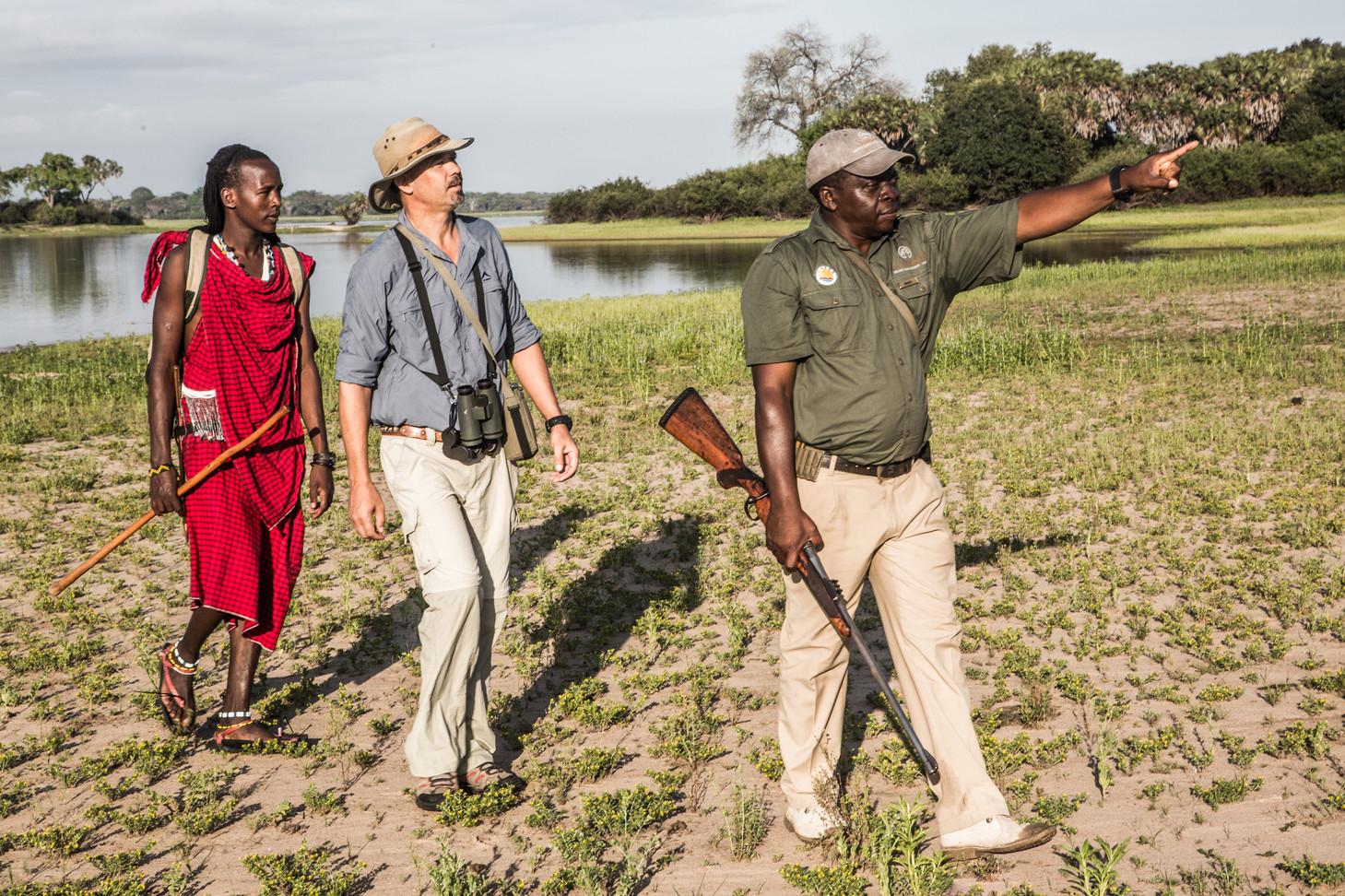 Walking Safari Jongomero Ruaha Tanzania