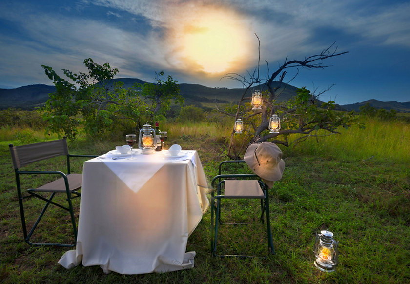 Lope Dinner with a view Gabon