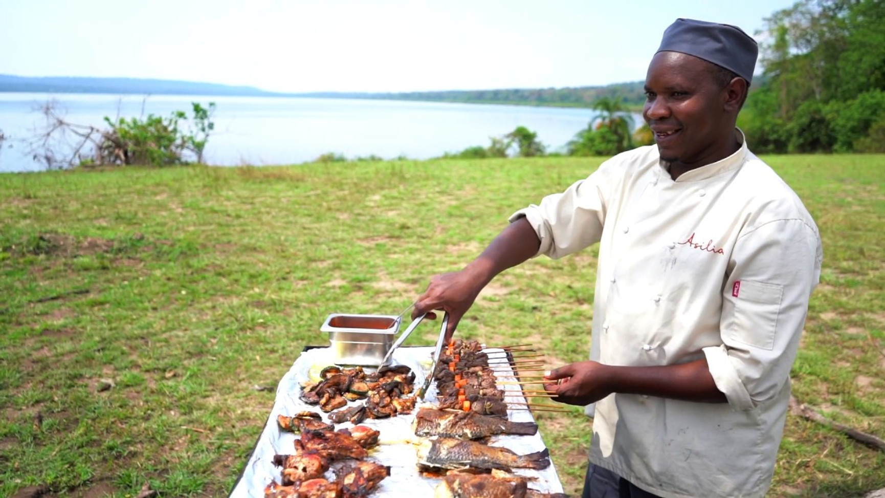 Welcome to Rubondo Chimp Camp on the Shores of Lake Victoria