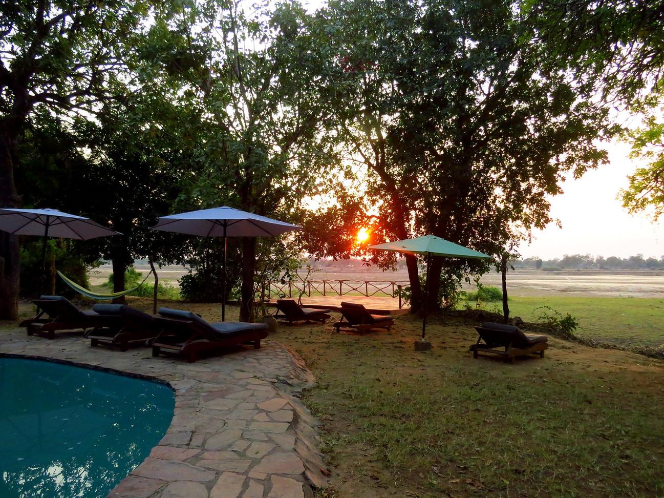 Sunset Pool View Zikomo Zambia