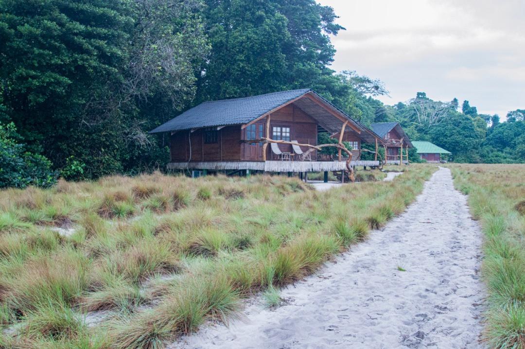 Guest Cabins Pongara Lodge Gabon