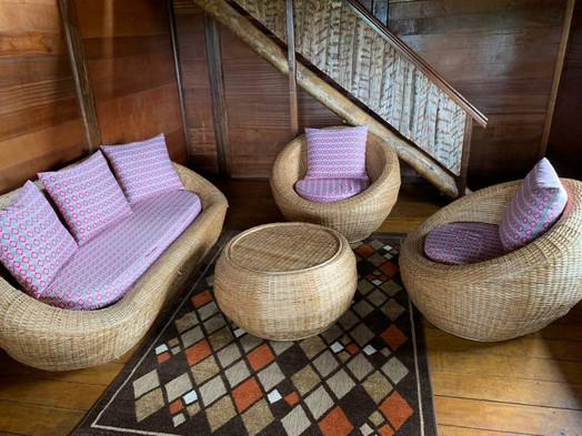 Lounge Area Pongara Lodge Gabon